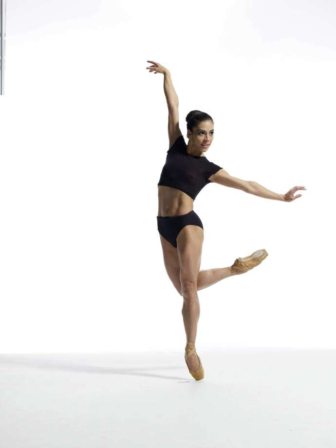 Yumelia Garcia of The Joffrey Ballet; photo Herbert Migdoll