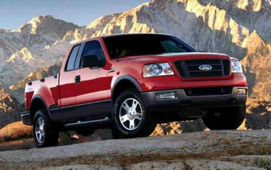 No. 1: The 2006 full-size Ford pickup (Ford Motor Co.)