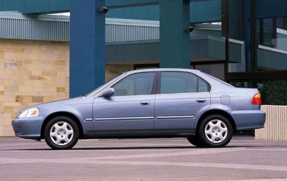 No. 4: The 2000 Honda Civic (Honda Motor Co., Ltd. )