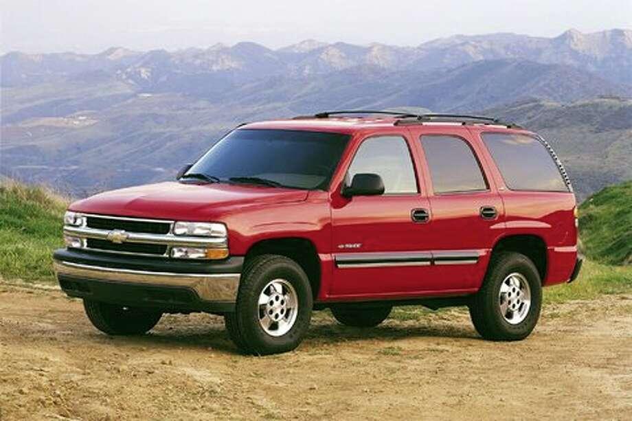 No. 6: The 2002 Chevy Tahoe (General Motors)
