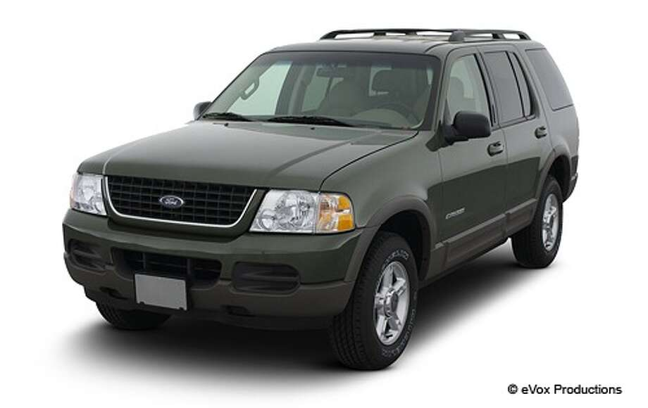 No. 8: The 2002 Ford Explorer (Ford Motor Co.)