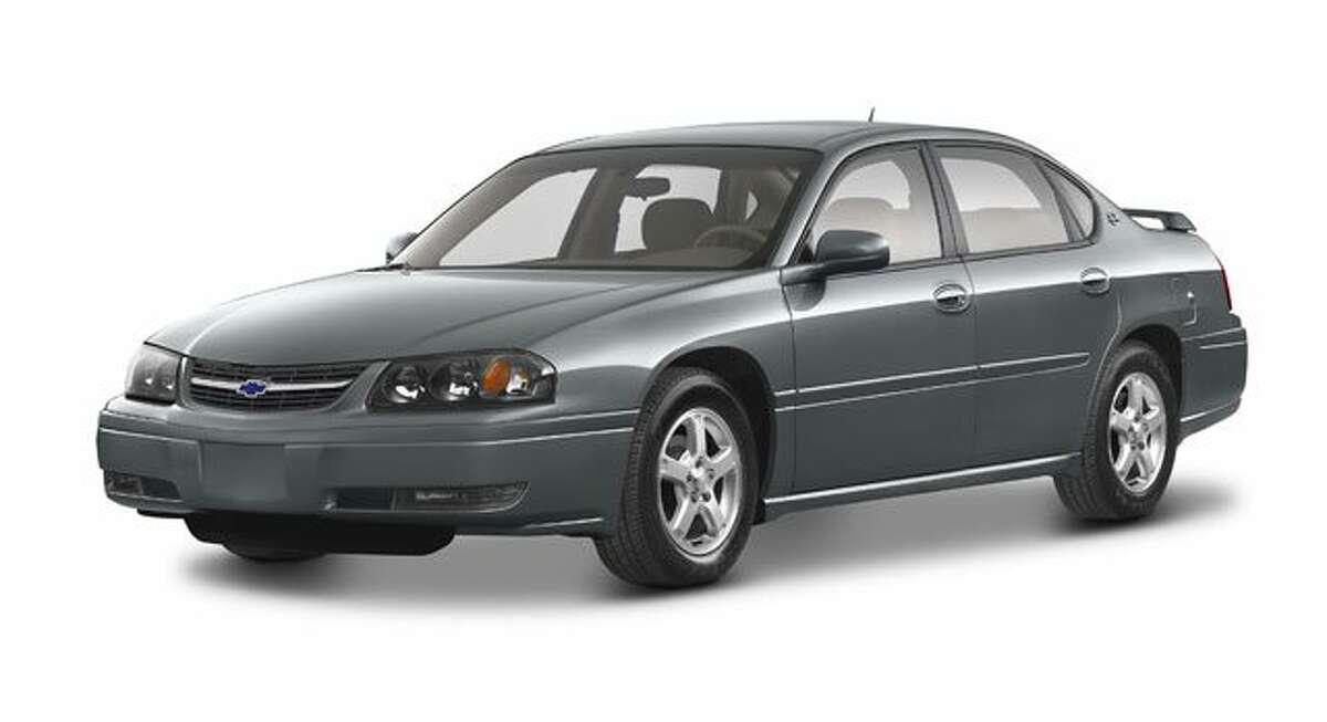 9. 2005 Chevy Impala