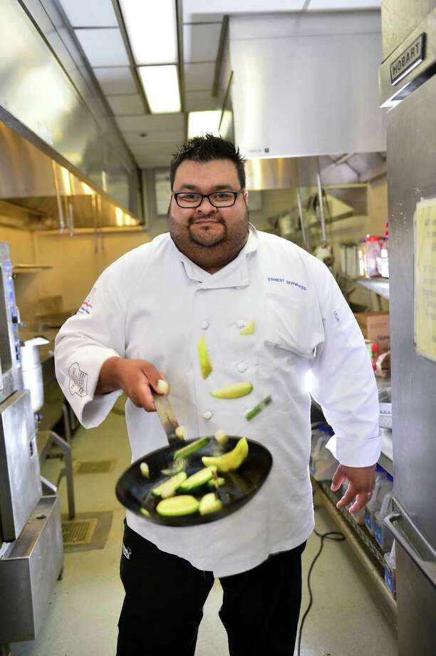 The executive chef's grilling skills won him a cool $50,000 and some big bragging rights. The pit boss of the Burnt Bean Co. in New Braunfels won the final round of Food Network's 'Chopped Grill Masters,' broadcast in 2012.