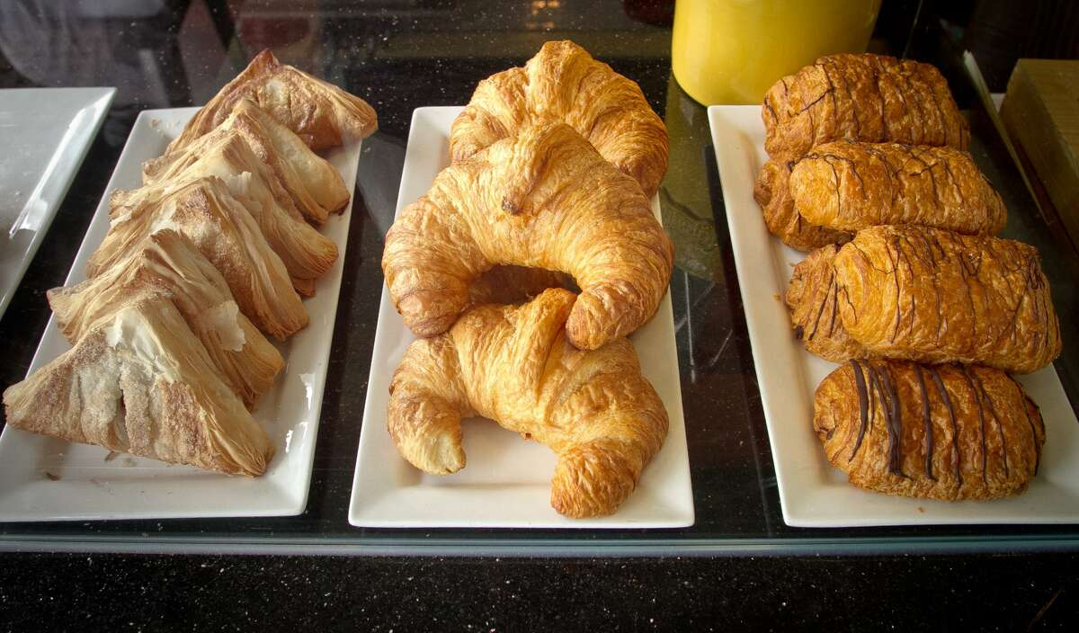 The pastry case at Cassava. (John Storey / Special to the Chronicle)