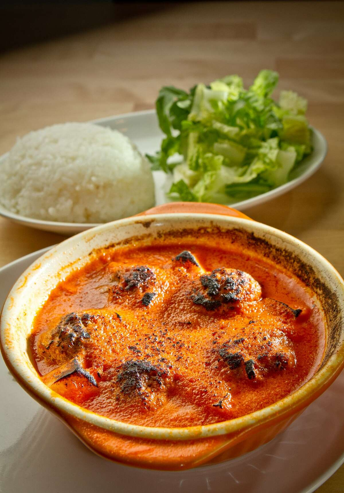 The Meatballs in Curry Rice at Cassava. (John Storey / Special to the Chronicle)