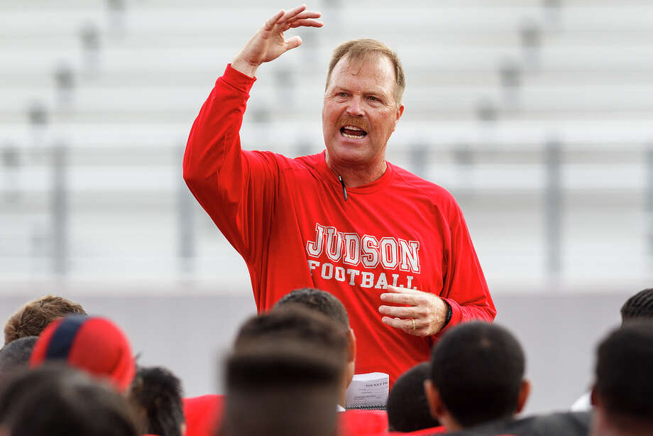 Judson head football coach Mark Smith reportedly has agreed to become the new Madison Mavericks coach this fall, replacing the departing Jim Streety. Smith guided the Rockets helm for two seasons. Photo: MARVIN PFEIFFER, NE Herald File Photo / Prime Time Newspapers 2012