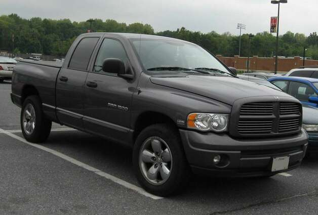 8. (US) 2004 Dodge Pickup (full size) Photo: Creative Commons