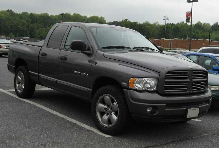 8. (US) 2004 Dodge Pickup (full size) Photo: Creative Commons