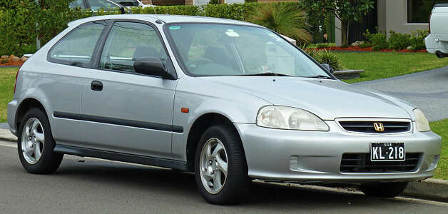 2. (US) 1998 Honda Civic Photo: Creative Commons