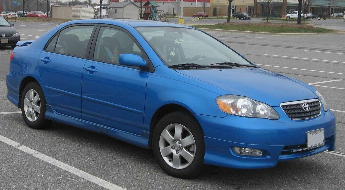 10. (Washington) 2003 Toyota Corolla