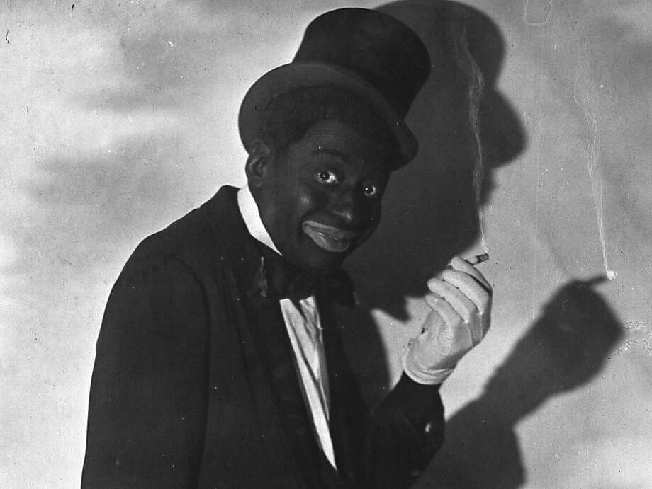 Blackface performer Bert Williams, as seen in 1921. Photo: Samuel Lumiere