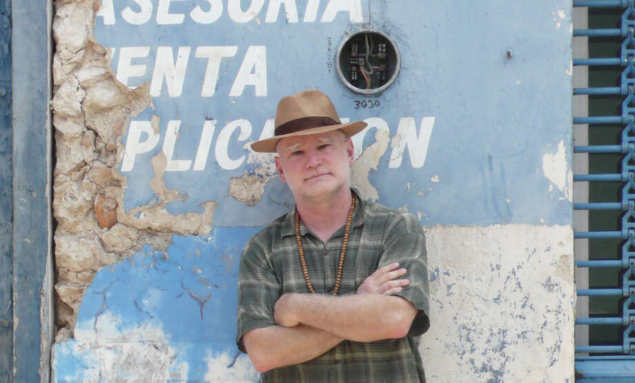 "Steve Perkins, a well-traveled (pictured in Yucatan, Mexico) and exhibited artist, will be displaying pieces inspired by jazz greats for an upcoming art show at the Mayor's Gallery in Stamford, Conn. ""Angels of Jazz,"" will open at the gallery, located at Stamford Government Center, 10th floor, 888 Washington Blvd., Wednesday, Sept. 5 and run to Wednesday, Oct. 31. An evening reception is planned for Thursday, Sept. 13, from 5:30 to 7:30 p.m. Photo: Contributed Photo"