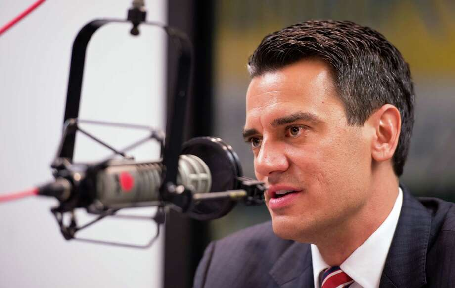 U.S. Rep. Kevin Yoder, R-Kan., apologizes on the radio to his constituents for skinny-dipping in the Sea of Galilee during a trip to the Mideast.  last summer. August. (AP Photo/The Kansas City Star, David Eulitt) Photo: David Eulitt / The Kansas City Star