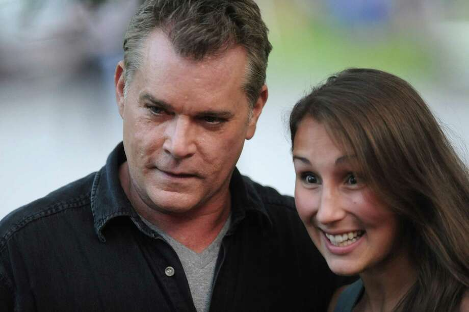 """Actor Ray Liotta takes a break from filming on set of the movie """"The Place Beyond the Pines"""" to greet some eager fans waiting on Story Ave. in Niskayuna, N.Y. on Wednesday, Aug. 31, 2011.  (Lori Van Buren / Times Union) Photo: Lori Van Buren"""