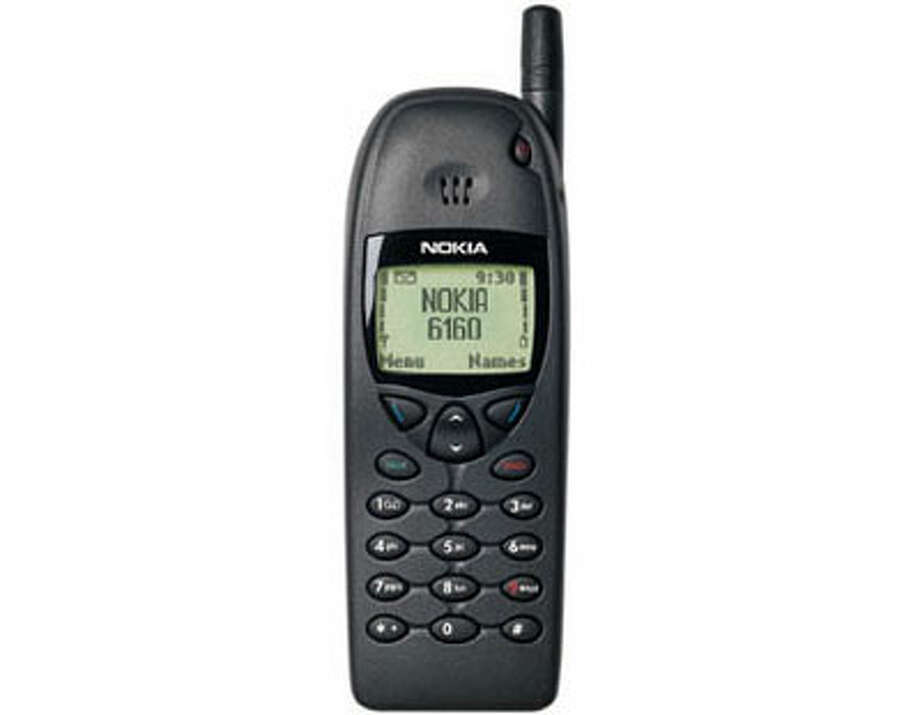Nokia topped the cell-phone world in the late 1990s with phones such as the 6160. But it fell behind with the advent of smartphones. Photo: Nokia