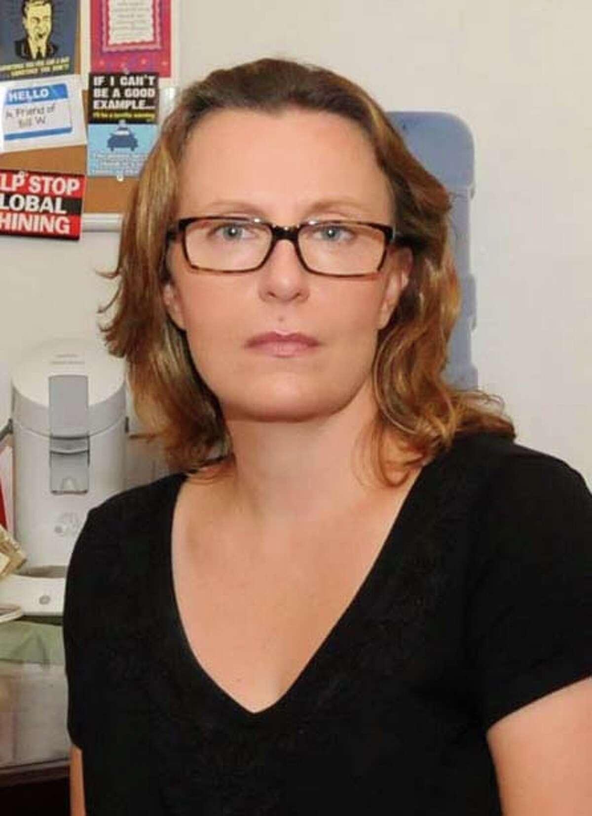 Liz Jorgensen is a Ridgefield therapist.
