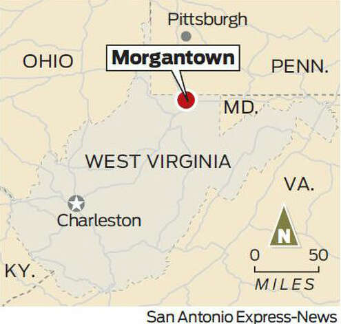 Morgantown, W.V. Photo: Express-News