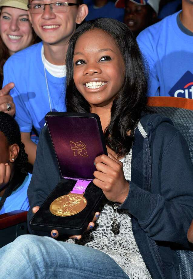 2012: Gabby Douglas Photo: Mike Coppola, Getty Images / 2012 Getty Images