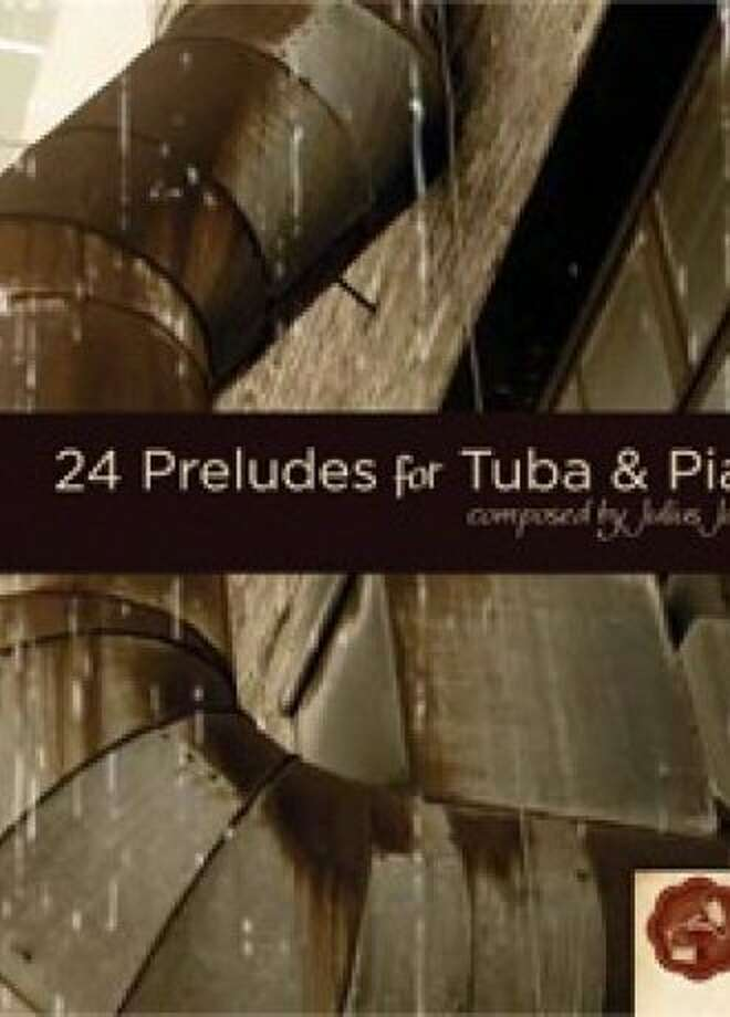 JULIUS JACOBSEN / 24 PRELUDES FOR TUBA AND PIANO Photo: Digital Victrola