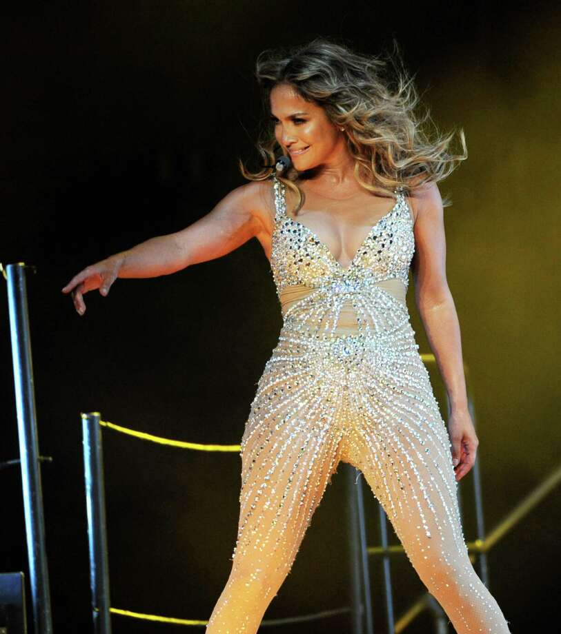 LOS ANGELES, CA - AUGUST 16:  Singer Jennifer Lopez performs at The Staples Center on August 16, 2012 in Los Angeles, California. Photo: Kevin Winter, Getty Images / 2012 Getty Images