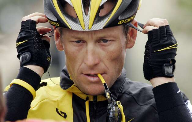 "FILE - In this Feb. 22, 2009 file photo,  Lance Armstrong prepares for the final stage of the Tour of California cycling race in Rancho Bernardo, Calif.  The U.S. Anti-Doping Agency is bringing doping charges against the seven-time Tour de France winner, questioning how he achieved those famous cycling victories.  Armstrong, who retired from cycling last year, could face a lifetime ban from the sport if he is found to have used performance-enhancing drugs. He maintained his innocence, saying: ""I have never doped."" (AP Photo/Marcio Jose Sanchez, File) (AP)"