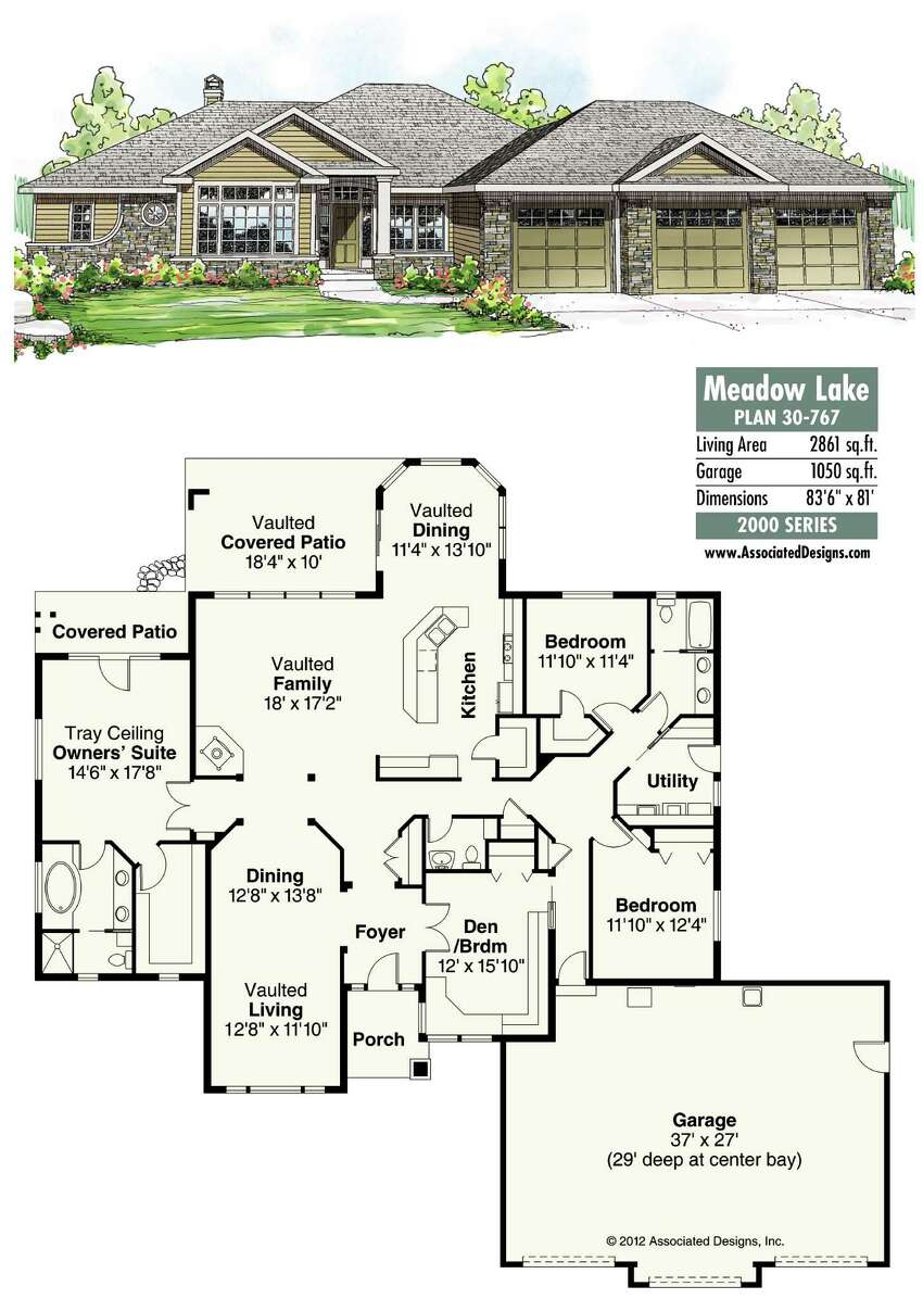 Meadow Lake Plan 30-767