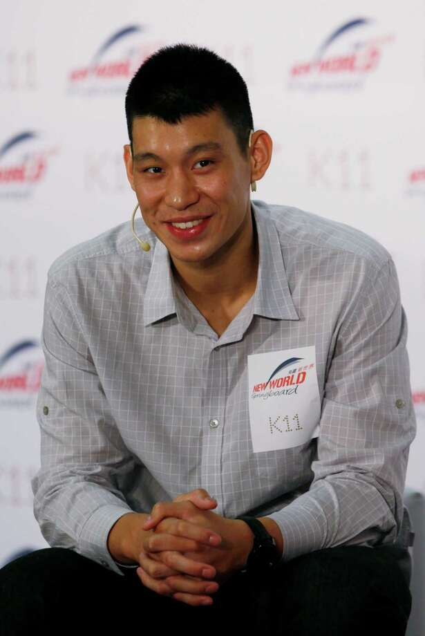 NBA star Jeremy Lin meets his fans in Hong Kong Friday, Aug. 24, 2012. Lin will move to Yao Ming's former team Houston Rockets next season on a three-year deal. (AP Photo/Kin Cheung) Photo: Kin Cheung, Associated Press / AP