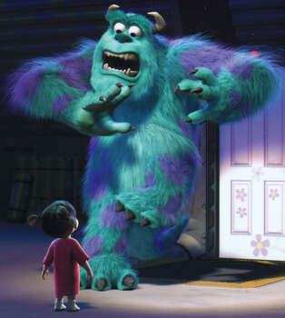 """Monsters, Inc. 3D (Dec. 19): Pixar rereleases arguably its most underrated movie, the first effort from """"Up"""" director Pete Docter. This time it's in 3-D. Photo: HANDOUT / DISNEY/PIXAR"""