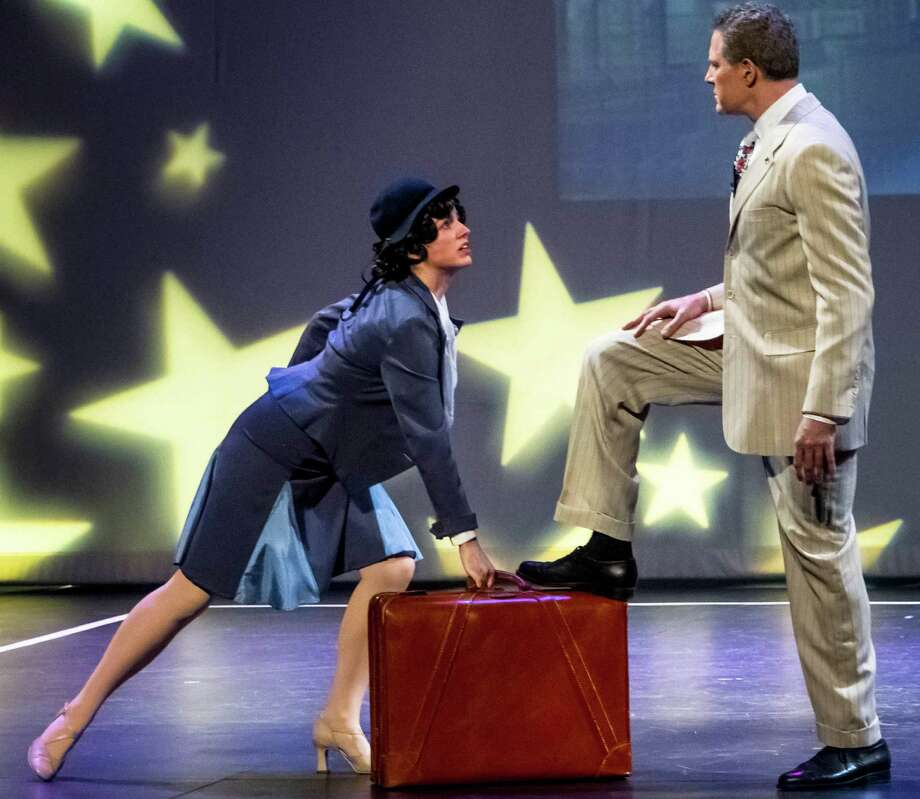 "Christine Cornell and Rich Goldstein perform in a scene from the musical ""42nd Street,"" at Curtain Call's Kweskin Theatre in Stamford earlier this summer. Curtain Call was voted second in Gov. Dannel P. Malloy's Fan-Favorite ""Still Revolutionary"" tourism campaign this week. Photo: Contributed Photo"