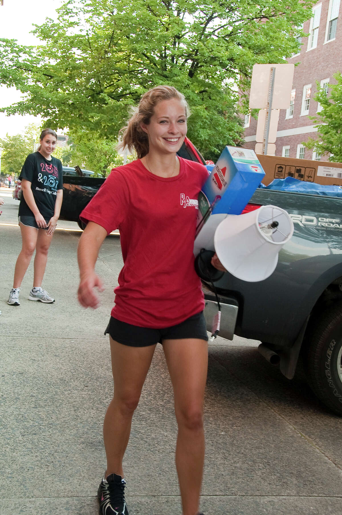 Were you Seen moving on campus at The Sage Colleges on Thursday, Aug. 23, 2012?