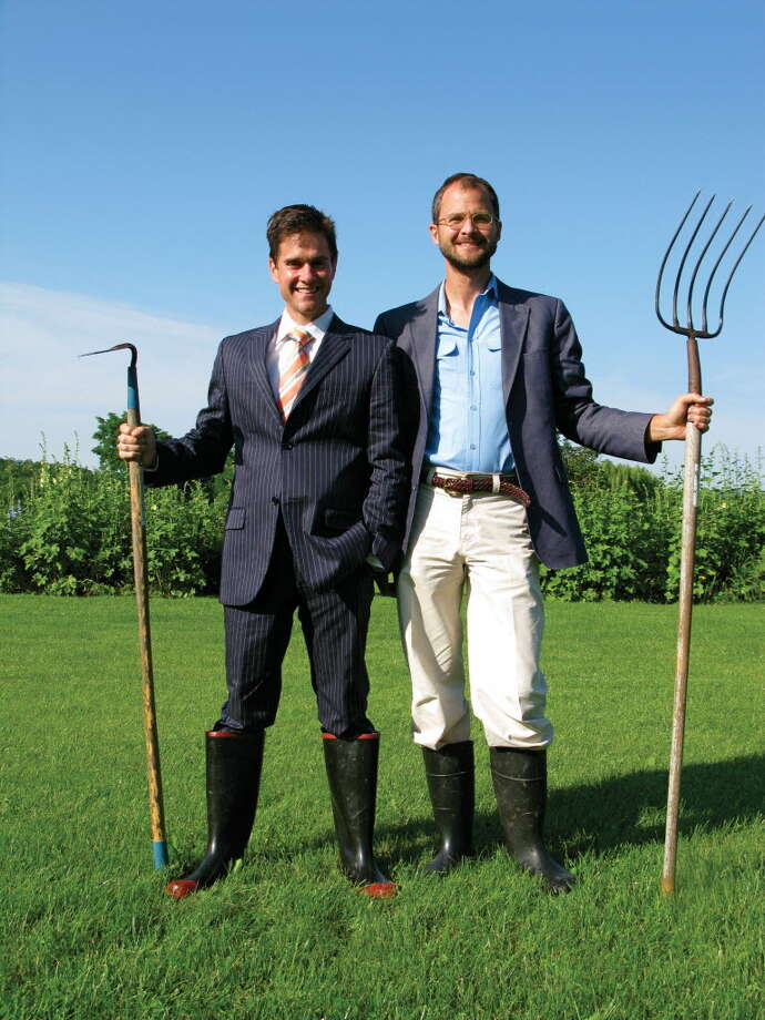 """The Fabulous Beekman Boys"" Dr. Brent Ridge and Josh Kilmer-Purcell. (Times Union archive)"