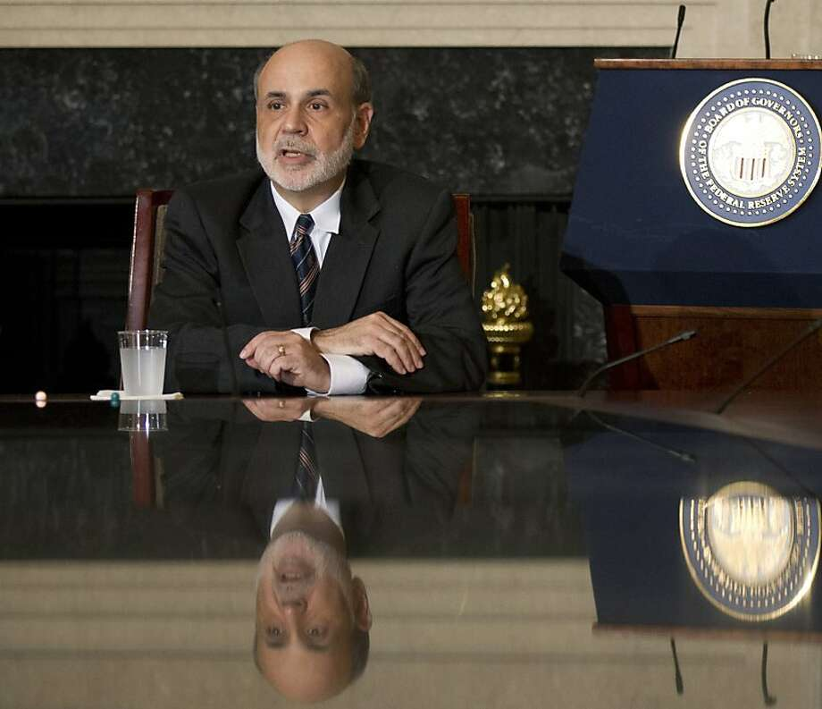 "Chairman Ben Bernanke says ""there is scope for further action"" by the Fed. Photo: Manuel Balce Ceneta, Associated Press"