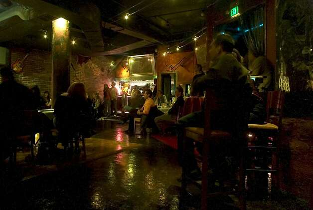 The Purple Onion in North Beach, where famous comics played, will close next month. The building on Columbus Avenue has been sold. Photo: John O'Hara, CHRONICLE
