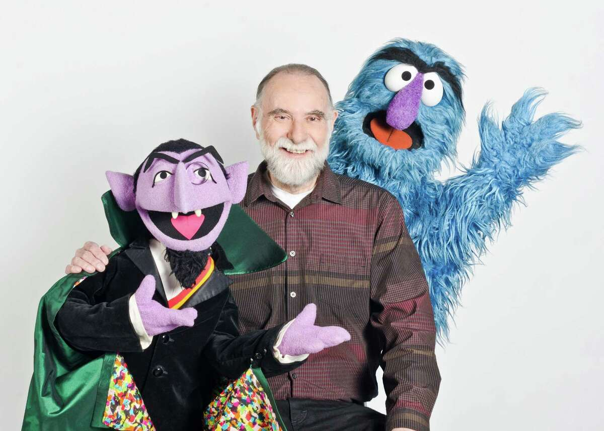 Jerry Nelson also voiced other character, such as Herry Monster, right.