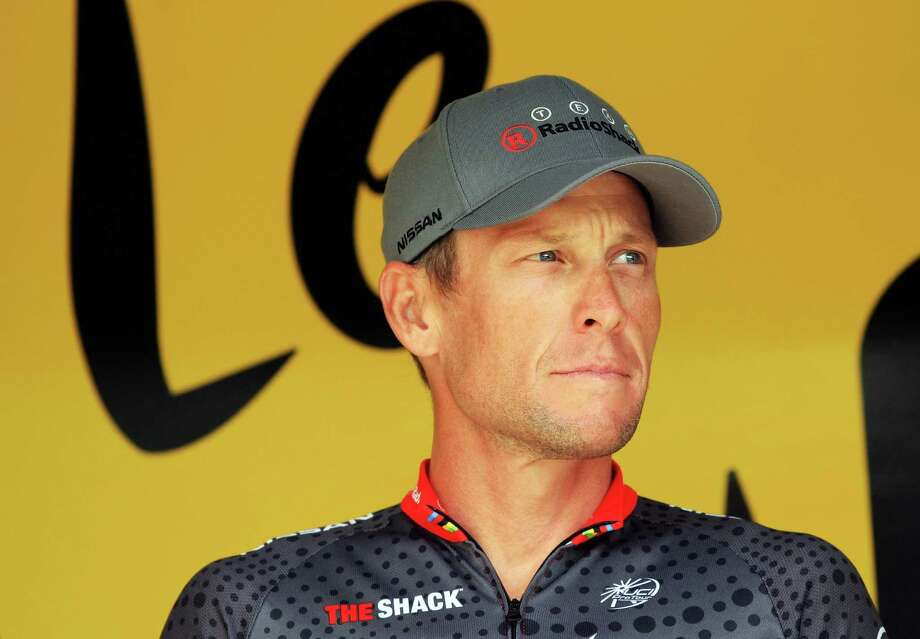 Lance Armstrong had his seven Tour de France titles wiped out by the U.S. Anti-Doping Agency on Friday. Photo: Bryn Lennon / 2010 Getty Images