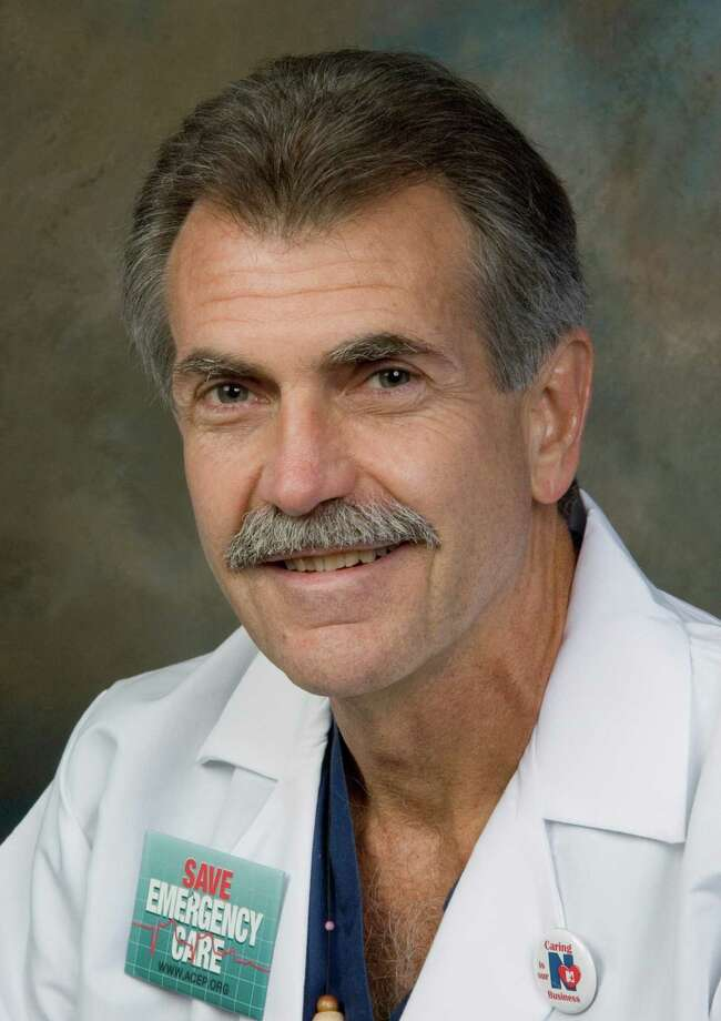Michael L. Carius, M.D., of Stratford, chairman of the Department of Emergency Medicine at Norwalk Hospital, has been honored with the 2012 John G. Wiegenstein Leadership Award from the American College of Emergency Physicians. Photo: Contributed
