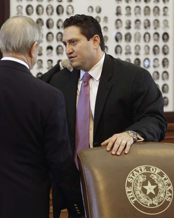 State Rep. Trey Martinez Fischer, 42, Democrat, Texas (Harry Cabluck / AP)