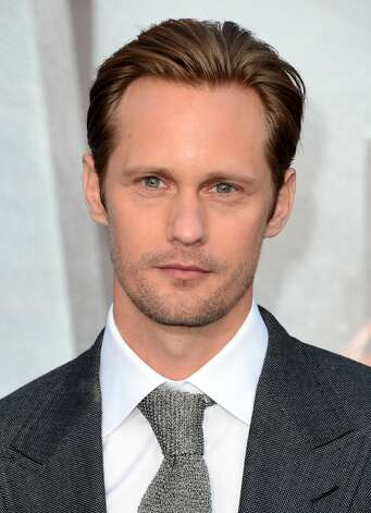 "Switching to ""True Blood,"" here's Alexander Skarsgard."