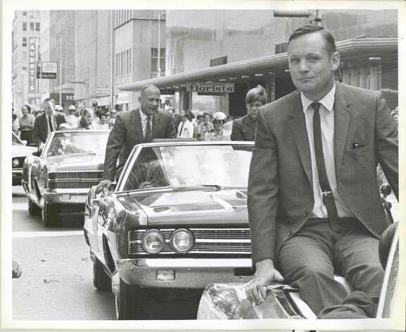 POST  Apollo 11 ticker tape parade in downtown Houston.