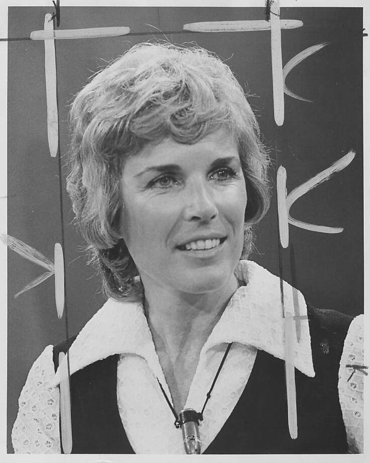 Helen Bentley worked at KCBS after a career in TV. Photo: Chron Archive, The Chronicle