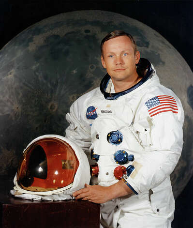 This undated image obtained from NASA shows U.S. astronaut Neil Armstrong, who was the first person to set foot on the moon. Armstrong died Aug. 25, 2012. He was 82. Photo: -, AFP/Getty Images / AFP