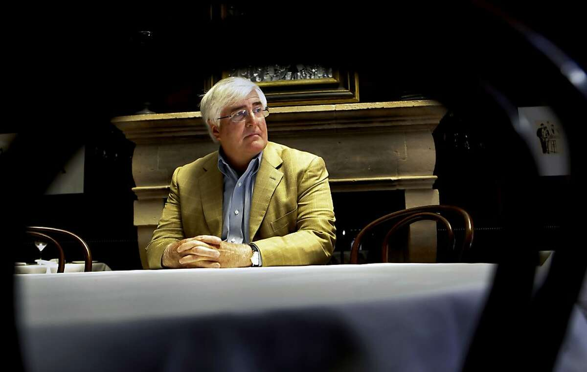 Silicon Valley investor, Ron Conway, at Cafe des Amis, in San Francisco, Ca., on Wednesday June 20, 2012.