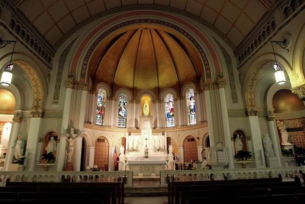 St. Mary's Church is the city's second-oldest parish, formed in the 1850s to handle overflow from San Fernando Cathedral. The original church was lost to the 1921 flood on the adjacent San Antonio River. The Gothic replacement, completed in 1924, has been a landmark ever since. Read More Photo: Helen L. Montoya, San Antonio Express-News / ©SAN ANTONIO EXPRESS-NEWS