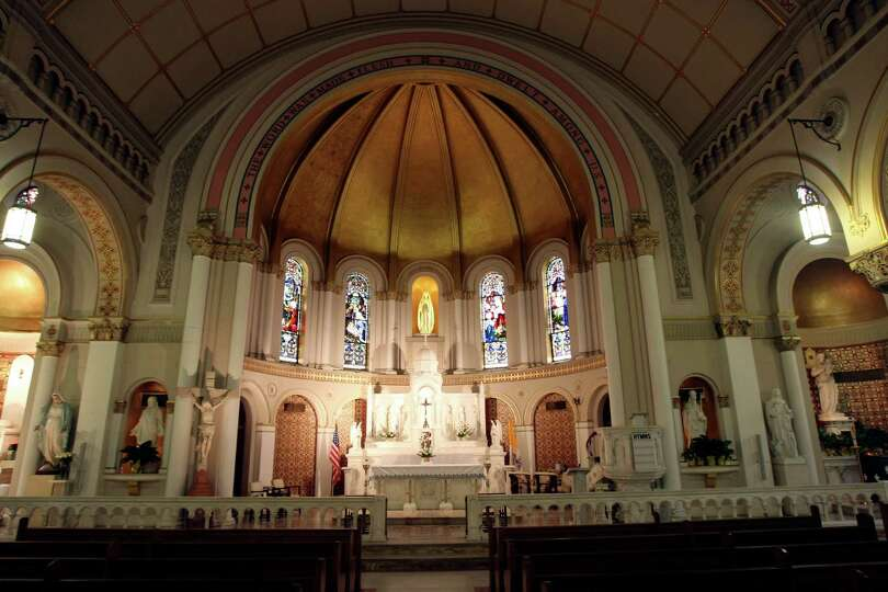 St. Mary's Church is the city's second-oldest parish, formed in the 1850s to handle overflow