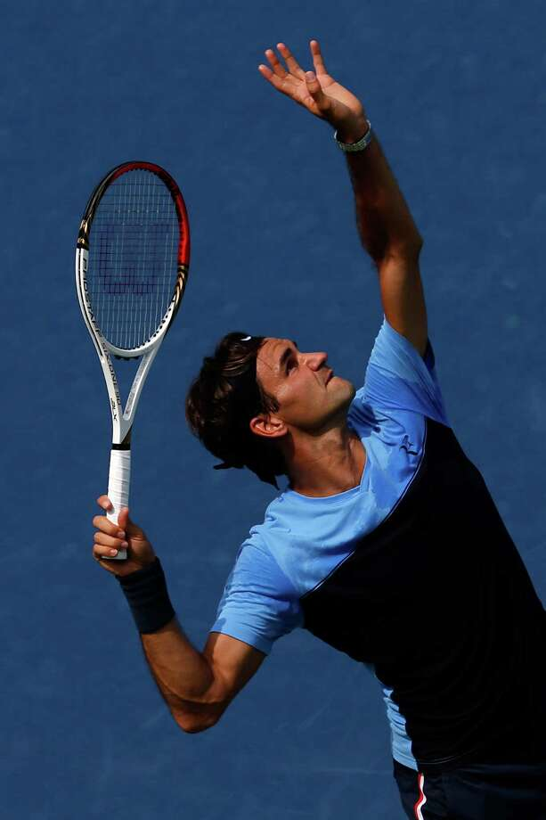 Roger Federer, seeded No. 1 at the U.S. Open, is attempting to win his 18th Grand Slam championship. Photo: Chris Trotman / 2012 Getty Images