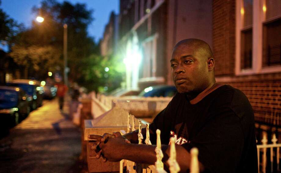 Brooklyn resident Moleendo Stewart, who has a long history of sleep problems, says he thinks that stress from discrimination plays a role in his condition. Photo: BENJAMIN NORMAN / NYTNS