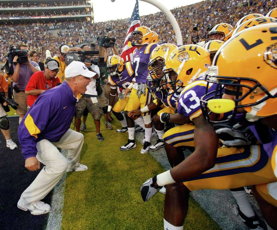 13.  LSU (10-3) Photo: Gerald Herbert / AP