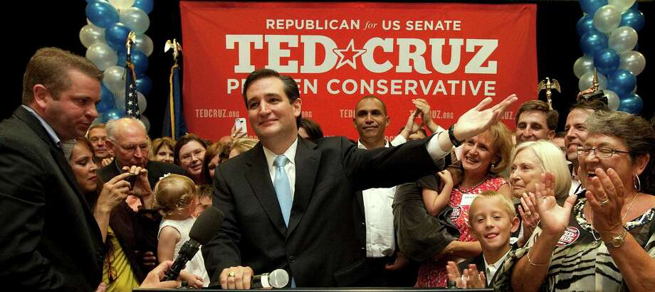 Ted Cruz shocked the GOP establishment in July when he defeated Lt. Gov. David Dewhurst in a runoff election for the U.S. Senate seat being vacated by Kay Bailey Hutchison. The former Texas solicitor general's friends are looking forward to his future in the party. Photo: Johnny Hanson / © 2012  Houston Chronicle