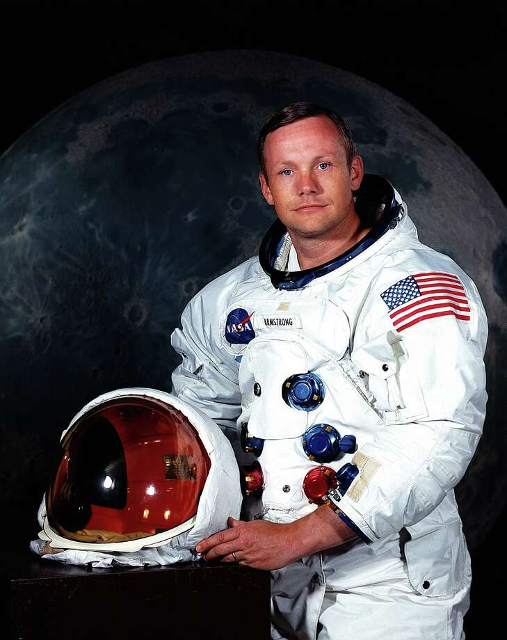 """FILE - In undated photo provided by NASA shows Neil Armstrong.  The family of Neil Armstrong, the first man to walk on the moon, says he has died at age 82. A statement from the family says he died following complications resulting from cardiovascular procedures. It doesn't say where he died. Armstrong commanded the Apollo 11 spacecraft that landed on the moon July 20, 1969. He radioed back to Earth the historic news of """"one giant leap for mankind."""" Armstrong and fellow astronaut Edwin """"Buzz"""" Aldrin spent nearly three hours walking on the moon, collecting samples, conducting experiments and taking photographs. In all, 12 Americans walked on the moon from 1969 to 1972.  (AP Photo/NASA) / NASA"""