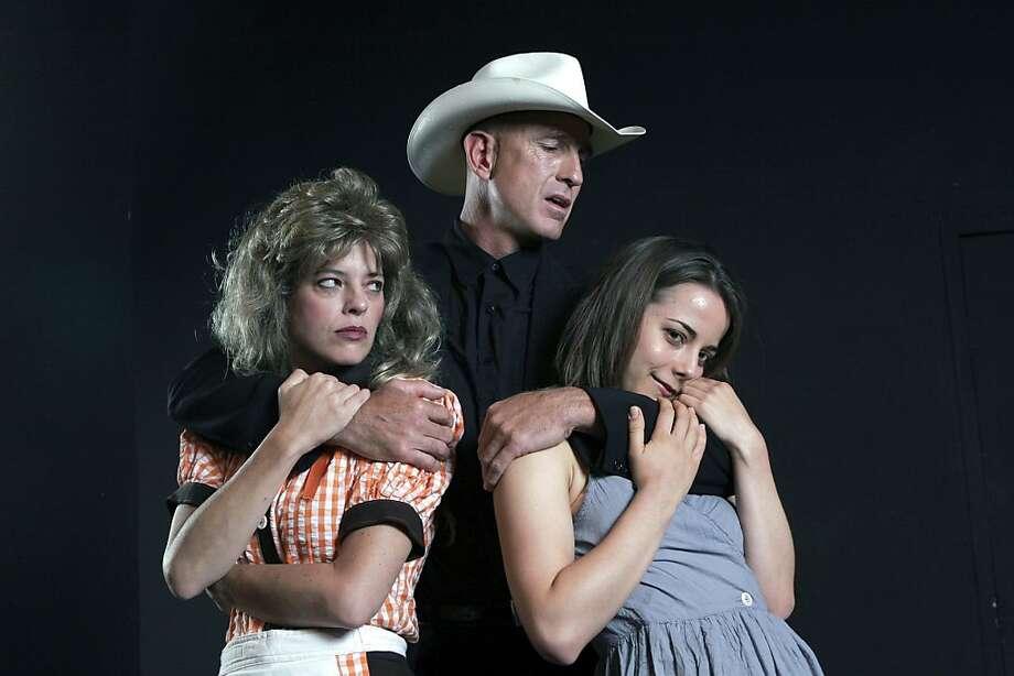 "Stacy Ross, Cully Fredrickson and Anna Bullard starred in Marin Theatre Company's 2006 production of ""Killer Joe."" Who needs a film? Photo: Photo Courtesy, Ed Smith"